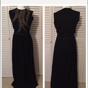 Alired Shaheem 1970's Vintage evening gown size 12